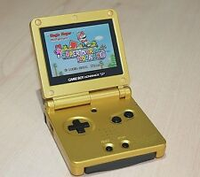 Backlit Backlight Zelda Gameboy Advance SP Konsole ags101 NEU generalüberholt GBA