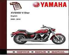 Yamaha XVS950 XVS 950 V-Star 2009 - 2010 Service Repair Workshop Manual