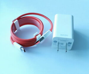 Dash Charger 5V 4A Travel Wall Power Type-C Adapter Cable For Oneplus 5 5T 6T 6