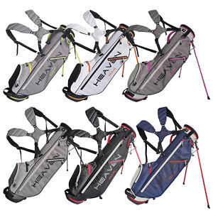 2021 Big Max Heaven Six 6 Golf Stand Bag Lightweight Carry Full Length Dividers