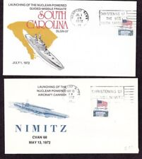 US Nuclear Ship Covers (5): 1959, 1971-2