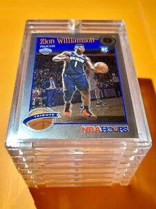 Zion Williamson ROOKIE NBA HOOPS PREMIUM STOCK TRIBUTE 2019-20 HOT RC - Mint!