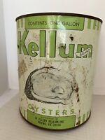 Kellum Oyster Can Gal Weens VA  JB