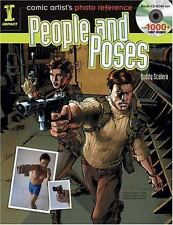Comic Artist's Photo Reference - People & Poses: Book/CD Set with 1000+ Color Im