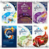 3 x GLADE ELECTRIC PLUG IN OIL AIR FRESHENER CHOOSE SCENT FRAGRANCE REFILL 20ML