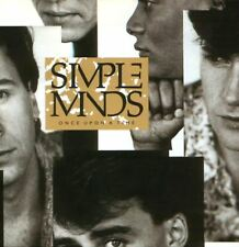 SIMPLE MINDS once upon a time (CD album) EX/EX CDV 2364 pop rock, synth pop