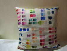 Designers Guild & John Derian Mixed Tone Canvas 11 Fabric Cushion Cover