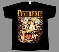 Pestilence Consuming Impulse NEW BLACK SHORT/LONG SLEEVE T-SHIRT