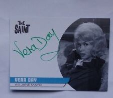 The saint autograph card