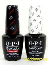 OPI GelColor UV/LED Soak Off New* GC 011- Strengthening Base Coat & GC Top Coat
