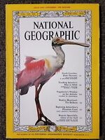 National Geographic Magazine February 1962 With Map of The Balkans, N Carolina