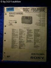 Sony Service Manual DSC F55 /F55E Digital Still Camera (#6599)