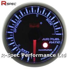 52 mm Azul advertencia de motor paso a paso relación de aire/combustible fuera del reactor calibre con luz de advertencia