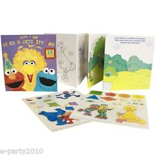 SESAME STREET STICKER ACTIVITY PAD ~ Big Bird Elmo Birthday Party Supplies Games