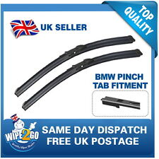 BMW 6 SERIES 2004-2010 E63,64 AERO FLAT WIPER BLADES 24-22 FOR PINCH TAB FITMENT
