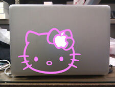 "Hello Kitty Cute Decal MacBook Vinyl Sticker for 13"" 15"" 17"""