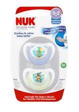 NUK Orthodontic Pacifier 0-2M BPA Free 2 Pack