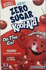 CHERRY KOOL-AID LOW CALORIE DRINK MIX 6 PACKS ON THE GO