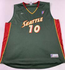Adidas Seattle Storm Gennifer Brandon Xxl 2xl Game WNBA Basketball Jersey Bird