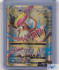 1x Mega M Pidgeot EX holo rare x1 POKEMON XY Evolutions 105/108 card