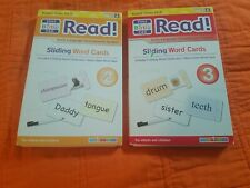 Your Baby Can Read! Set Vol.2 and 3 Sliding Word Card Set Robert Titzer ~ Lot 2