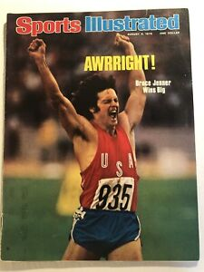 1976 Sports Illustrated USA Olympics BRUCE JENNER DECATHLON Gold Medal MONTREAL
