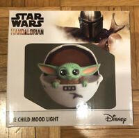 Star Wars Disney The Mandalorian The Child In Pram Mood Light LED Desk Lamp