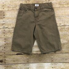 Old Navy Boys Size 16 Adjustable Waist Light Brown Shorts