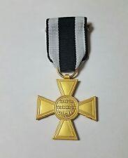 Orden Goldenes Militär-Verdienstkreuz Preußen 1864 am Band Top Repro