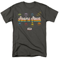 Sesame Street 50th Anniversary Made In 1969 Officially Licensed Adult T-Shirt