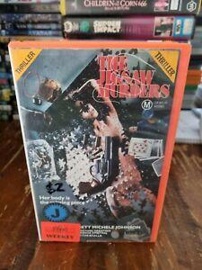 The Jigsaw Murders VHS 1989 Thriller Jag Mundhra Chad Everett Palace [Ex-Rental]
