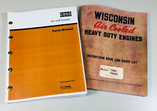 Case 254 Xp Trencher Wisconsin Vh4 Vh4d Engine Service Parts Manual Catalog