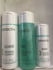 Proactiv 60 Day 3 Piece Kit Proactive 3-Step System+Usage Guide, Exp. 12/18
