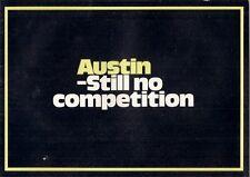 Austin 1971-72 UK Market Sales Brochure Mini 1100 1300 Maxi 1800