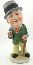 """Vintage Chalkware China W.C. Fields 7"""" Statue or Figure by Enesco or Royal Crown"""