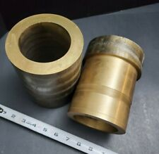 "5"" Od Bearing Bronze Cda 932 Sae 660 3.4"" Id 3½"" Spindle Copper Alloy Machinist"