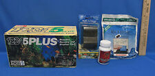 Penn Plax 5 Way Breeder Tank Nursery Display Tank Aqua Tech Undergravel Filter