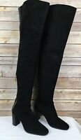 Stuart Weitzman Size 6 Hardy 90 Black Suede Leather Thigh High Boots NWOB $898