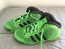 Pre-owned RARE Adipure Mens ADIDAS Shoes 8UK  Green/Black Basketball