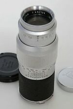 Leica 135mm f4.5 Hektor Lens. Screw Mount With M Mount Adapter