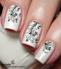 French Flower Nail Art Sticker Water Transfer Decal wrap Tattoo 24