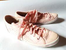 BUFFALO Sneaker Halbschuhe rosa Stoff - innen Leder o. Absatz Damen Gr. 35
