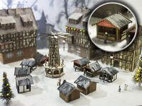 MU N-L00051 - 3 Weihnachtsmarktstände - Set 2 - Spur N - NEU