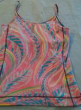 Lilly Pulitzer Patterned Workout Tank Top Sz M-L ?