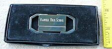 Rainier High School Class of 1967 engraved chrome metal key ring NEW FREE ship