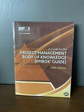 PMBOK Guide: A Guide to the Project Management Body of Knowledge by Project...