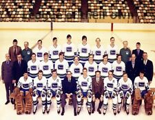 NHL 1970 - 71 Vancouver Canucks Color Team Picture  8 X 10 Photo Free Shipping