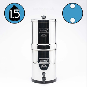 TRAVEL BERKEY Water Filter System with 4 Black Elements Filters