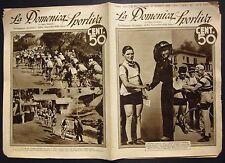 1934 DOMENICA SPORTIVA Giro d'Italia Francesco Camusso Alfredo Binda Guerra