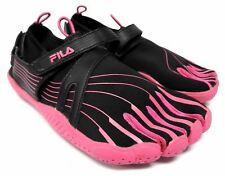 Fila women's size 7 shoes black and pink